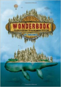 """The basis for their workshop, Jeff's """"Wonderbook"""" is chock full of writing exercises and inspiration. Click the picture to order on Amazon."""