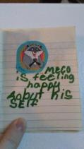 Proof that Meeko has always been a smug bastard.