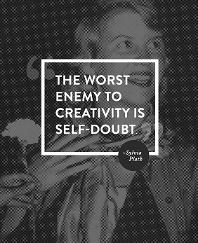sylvia-plath-self-doubt